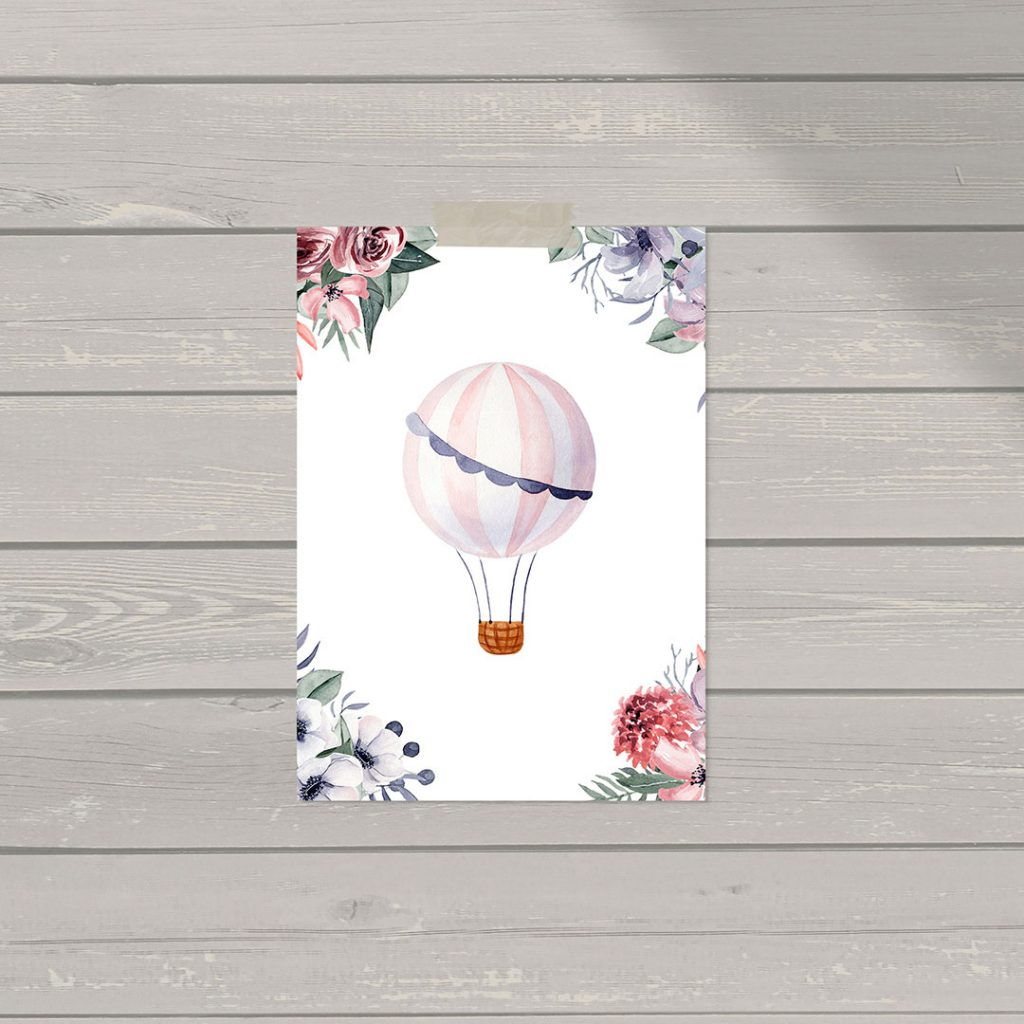 3 FREE Sweet Posters For Your Nursery or Children's Room