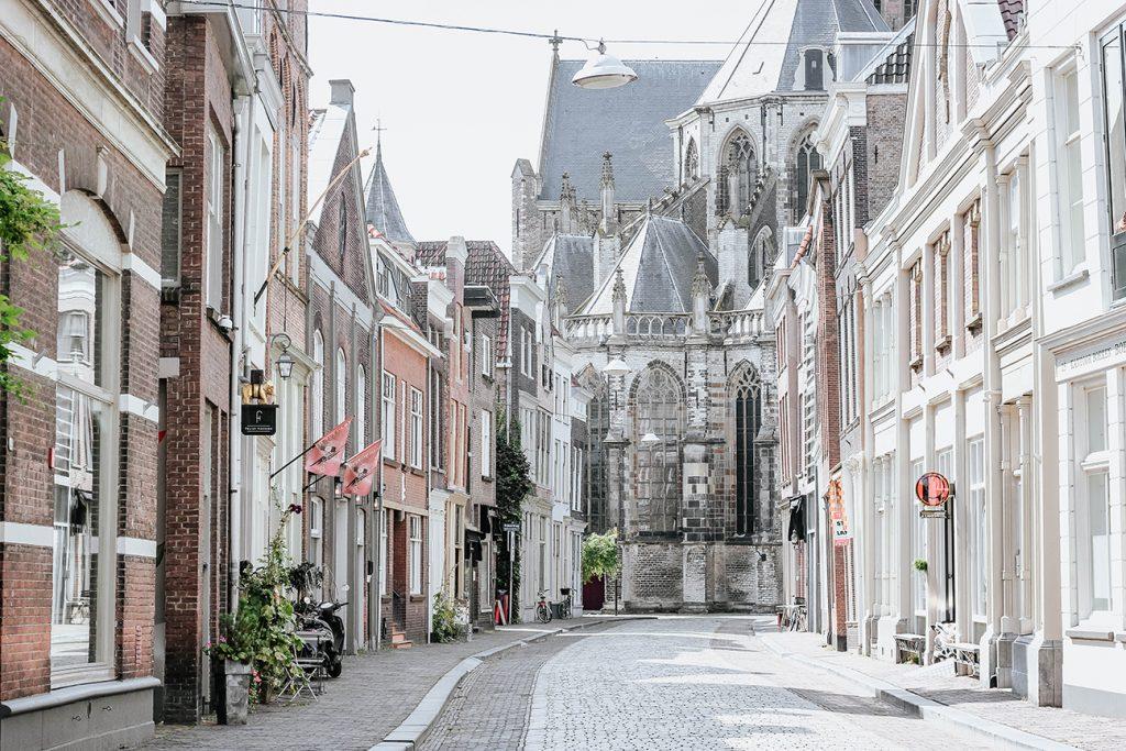 The city of Dordrecht, The Netherlands