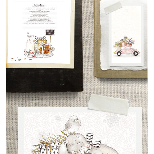 Free Holiday Printable Collection from Visual Stories inc. Stock Photos