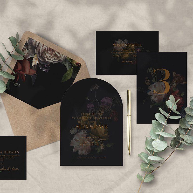 Free Editable Wedding Templates Dutch Still Life Floral